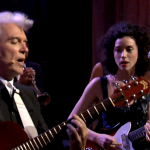 David Byrne y St Vincent en Barcelona