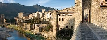De paseo por Besalú en Girona